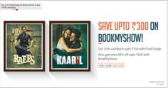 Bookmyshow   Get 50% Off on Booking minimum 2 tickets 50% cashback (upto Rs 150) on paying via Freecharge