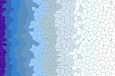 Gradient Voronoi Blue fabric by candyjoyce on Spoonflower - custom fabric