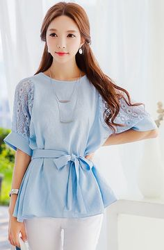 Blouse Style is really cute but LOVE this color!!!
