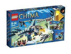 LEGO - Legends of Chima - 66450 Super Pack 3 in 1 (70000 + 70001 + 70003) Lego http://www.amazon.de/dp/B00B1GEISC/ref=cm_sw_r_pi_dp_0QuMub05G4YZM