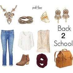 Fall Back 2 School by parklanejewelry on Polyvore featuring polyvore, bellezza, Athleta, Le Donne, Fat Face, rag