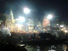 beauty of Ganga Aarti Varanasi