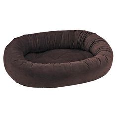 Donut Bed in Hickory Fabric (X Small: 22 x 16 x 6 in.)
