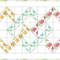 Quilting: Interlocking Tiles Table Runner