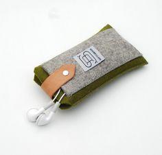 Ochre Wool Iphone Case. $32.00, via Etsy.