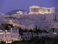 The Acropolis, built in the 5th century B.C. to glorify Greece following its defeat of the Persians at the Battle of Marathon, stands awesome and aloof on its limestone mesa above hectic modern Athens. Its shimmering, white-marble Parthenon (top right) is among the most recognizable structures on Earth.
