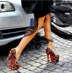 Red bottom heels- The official shoe of Roxie the Red Devil