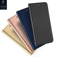 Dux Luxury High Quality Leather Case For Samsung Galaxy A5 A7 2017 A520 Cover Flip Case For Samsung A5 2017 Simple Style Shell