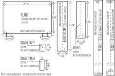 DIY: Schlichter Rucksack mit Chevron-Muster & Korkstoff | tagtraeumerin