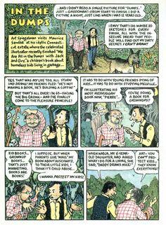 Sendak & Spiegelman: In the dumps.