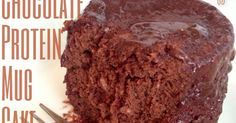 Melfy Cooks Healthy: Low Carb Chocolate Protein Mug Cake