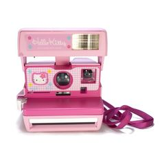 Hello Kitty Polaroid Camera!!! I've been wanting one of these type of cameras :O