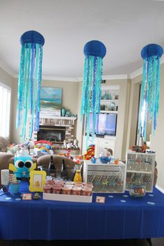 dory party drink table