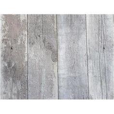 Vliesbehang grijs hout   Praxis