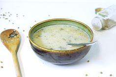 organic mung bean and kelp soup - raw