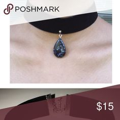 ✨SALE✨DARK CHOKER Black Velvet Choker*It's sexy and unique.You would love wearing this choker everyday*Silver Extension Chain*Adjustable Choker*Made by me*Handmade with Love! ❤️💕 Jewelry Necklaces