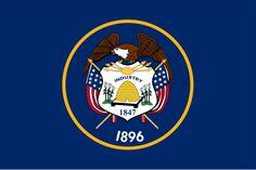 Utah State Flag and Seal