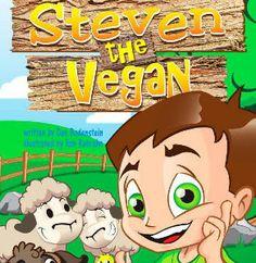 "New children's book ""Steven the Vegan"" empowers vegan kids to speak up"