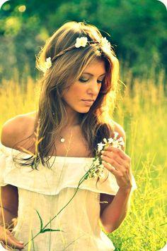 Michael J. Photography photoshoot in flower fields