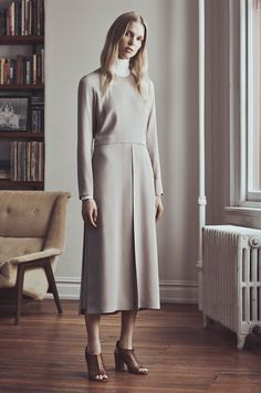 Lina Berg for Club Monaco's Fall 2015 Campaign, shot by Lachlan Bailey in Tribeca.