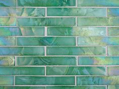 Recycled glass - love the opalescent turquoise and sea green colors!