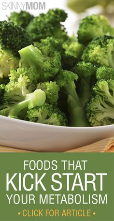 Get The Skinny On These Amazing Foods That Kick Start Your Metabolism!!!!