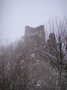 The first view of the castle