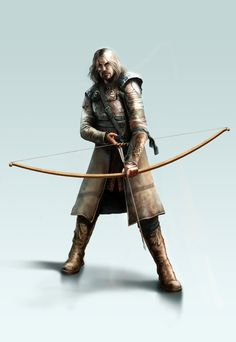 THE ARCHER by CyrilT.deviantart.com on @DeviantArt