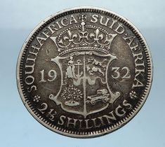 South Africa, officially theRepublic of South Africa (RSA ), is the southernmost country in Africa. South Africa is the country in the world by land area, and with close to 56 million people, is the world's populous nation. Rare Coins Worth Money, Valuable Coins, Coin Worth, Old Coins, King George, Coin Collecting, Ancient History, South Africa, Feathers