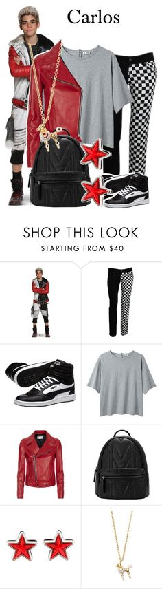"""""""Carlos/Descendants/1-11-16"""" by megan-vanwinkle ❤ liked on Polyvore featuring Disney, Puma, Acne Studios, Yves Saint Laurent, Givenchy and Kate Spade"""