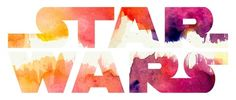Star Wars Watercolor Gap Art Print