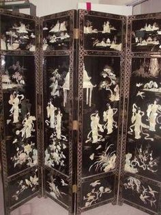 chinese screens room dividers Asian Decor Round Chinese Wooden