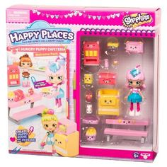 Happy Places Shopkins Welcome Pack - Hungry Puppy Cafeteria