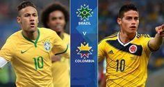 Brazil Vs Colombia (Copa America 2015): Live stream, Head to head, Prediction, Team squad, Watch online, Preview - http://www.tsmplug.com/football/brazil-vs-colombia-copa-america-2015/