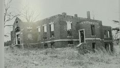 Investigation: Lincoln Academy.  I have been here.  The remains of the foundation give the land a lost, almost sad, feeling.  I have walked the entire side where the school once was.  I ventured across the road to the remains of the old shed and further to the graveyard.  All in the daylight.  One day, I hope to go back at night.