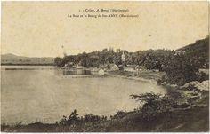 La baie et le bourg de Saint-Anne, Sainte-Anne - Carte postale, Collection A. Benoit -  Date inconnue