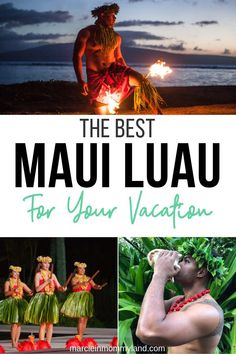 Planning a trip to Maui? One of my favorite things to do on Maui is go to a luau! Find out the best Maui luau for your next vacation plus get the lowest price possible on your luau in Maui. babies flight hotel restaurant destinations ideas tips Maui Luau, Maui Beach, Hawaii Hula, Maui Hawaii, Maui Travel, Jamaica Travel, Travel Usa, Travel Tips