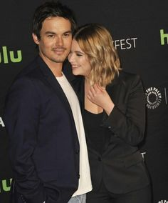 Tyler Blackburn and Ashley Benson. Pinned by @lilyriverside