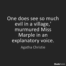 Image result for miss marple quote