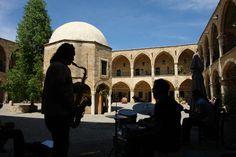 Live music at the Ottoman in Lefkosia of Turkish North Nicosia in North Cyprus North Cyprus, Live Music, Taj Mahal, Ottoman, Landscape, History, Holiday, Travel, Scenery