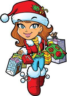 iclipart clip art illustration of a christmas gift bow clipart rh pinterest com  christmas shopping bag clipart
