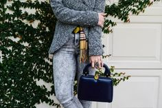new post on delirium style on all grey pieces for winter