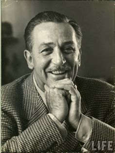 Walt Disney.  I just love this man.