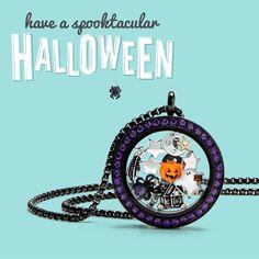 2016 Halloween!! Limited Edition charms /locket/ wrap 💜🕸👻🎃🍁www.elizabethcarney.origamiowl.com