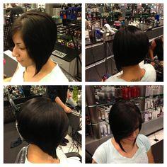 Amazing bob by @beauty_killz (reinstagram). #VisibleChanges #TexasSalon Medium Short Hair, Salons, Short Hair Styles, Bob, Change, Amazing, Beauty, Fashion, Bob Styles