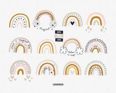 Rainbow svg Rainbow clipart Nursery clip art Vector clipart Digital clip art set Commercial use Baby shower clipart Rainbow with clouds - Imágenes efectivas que le proporcionamos sobre home Una imagen de alta calidad puede decirle mucha - Canva Instagram, Navratri Wishes, Happy Navratri, Baby Shower Clipart, Rainbow Clipart, Rainbow Art, Kids Rainbow, Rainbow Painting, Vector Clipart