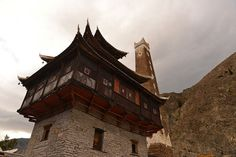 All sizes | Watchtower house in Wori xiang village, Sichuan province | by The Moon on Flickr