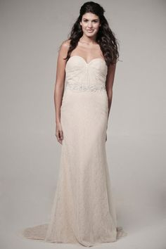 Ivy & Aster Violet Strapless Wedding Gown