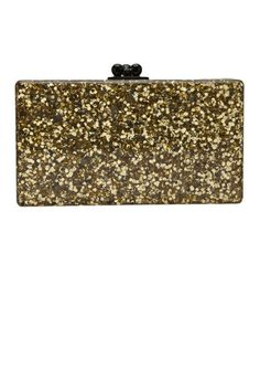 14 head-turning gold clutches for holiday parties and beyond: Edie Parker