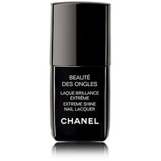 CHANEL LAQUE BRILLANCE EXTRÊME Extreme Shine Nail Lacquer (€25) ❤ liked on Polyvore featuring beauty products, nail care, nail polish, beauty, makeup, nails, fillers, natural, glossy nail polish and chanel nail polish